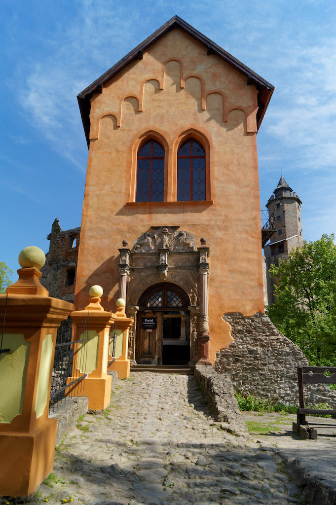 Budynek przedbramia wraz z renesansowym portalem