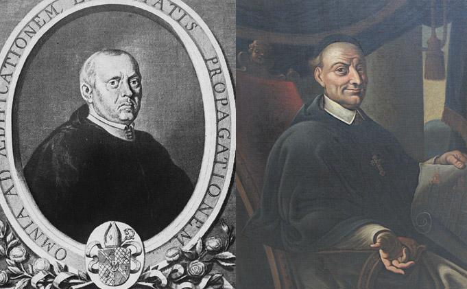 Opaci Bernard Rosa (po lewej) i Innocenty Fritsch (po prawej)