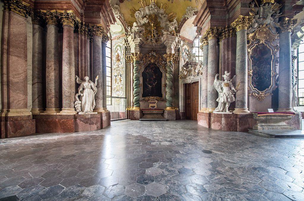 Mauzoleum Piastów Śląskich (Świdnickich) w Krzeszowie – Foto: Adrian Sitko