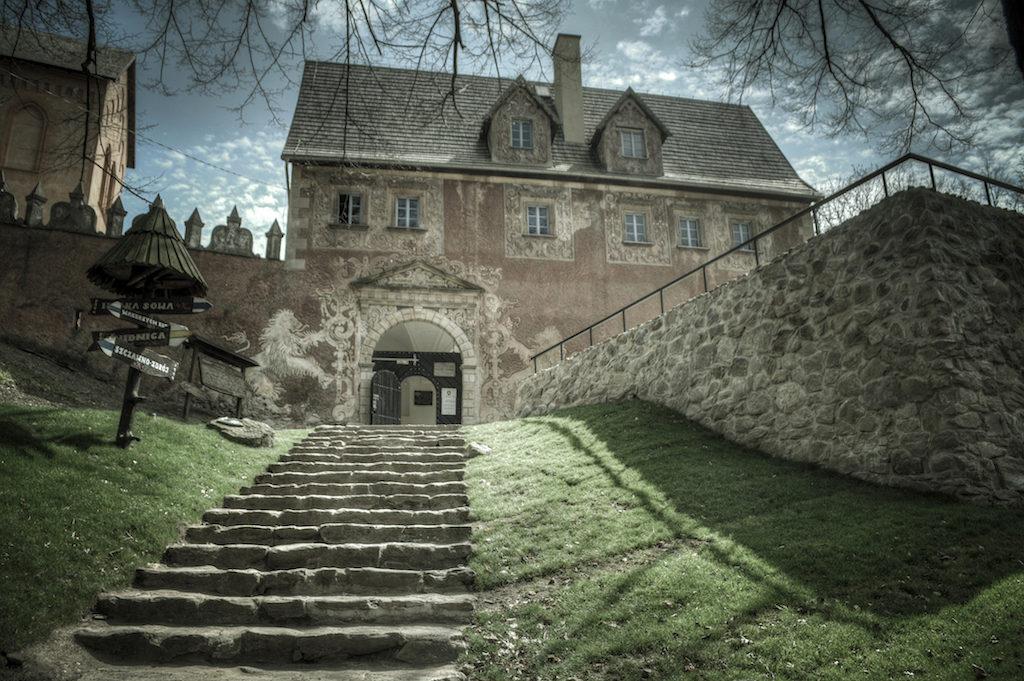 Renesansowy budynek bramny