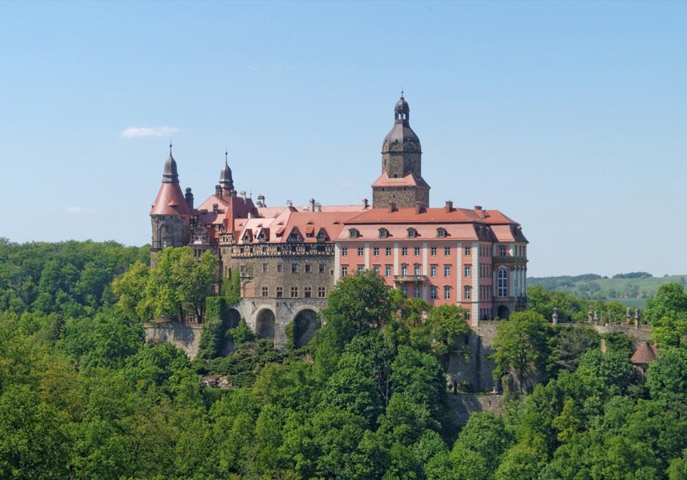 Zamek Książ w Wałbrzychu – największy zamek na Dolnym Śląsku
