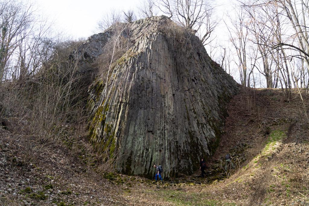 Małe Organy Myśliborskie zbudowane z bazaltowych (skała wulkaniczna) słupów