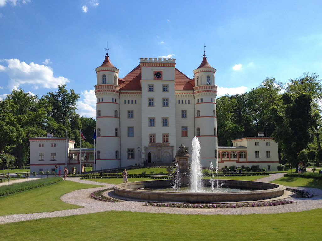 Pałac Wojanów w Kotlinie Jeleniogórskiej