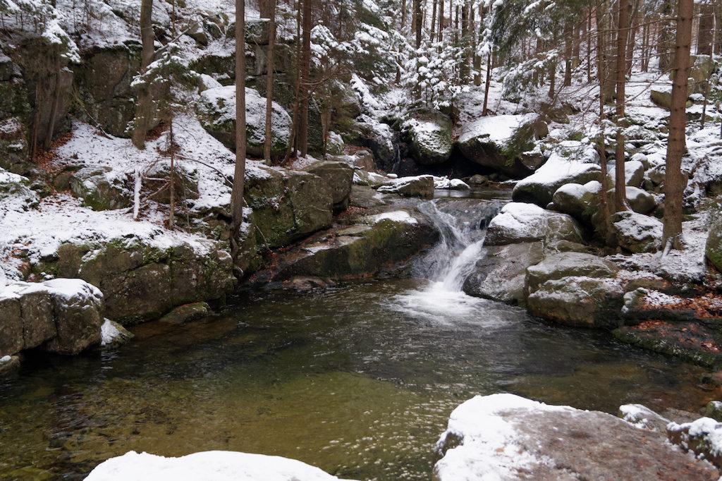 Potok Podgórna w Karkonoszach