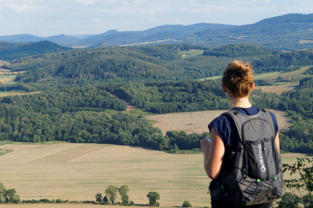 Sudety cechują również ogromne walory krajobrazowe