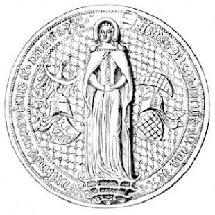 Księżna Agnieszka Habsburżanka, wdowa po Bolku II Małym