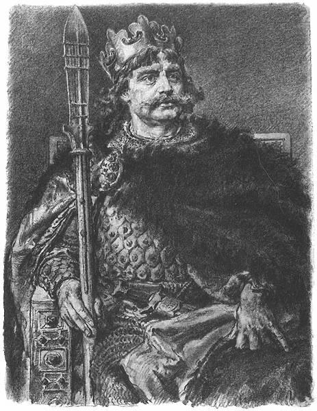 Król Polski Bolesław I Chrobry