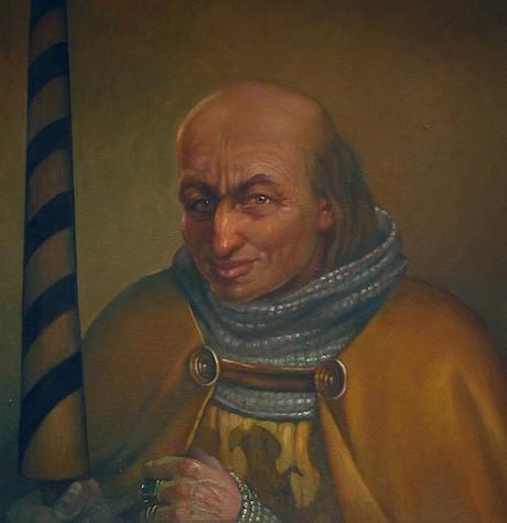 Książę śląski (później legnicki) Bolesław II Rogatka – Autor: Irena Bierwiaczonek