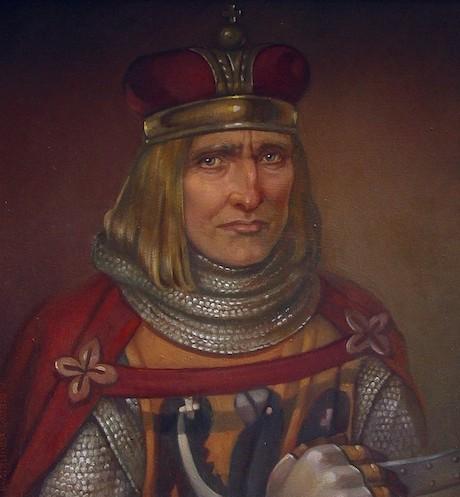 Książę głogowski Henryk III Głogowczyk – Autor: Irena Bierwiaczonek