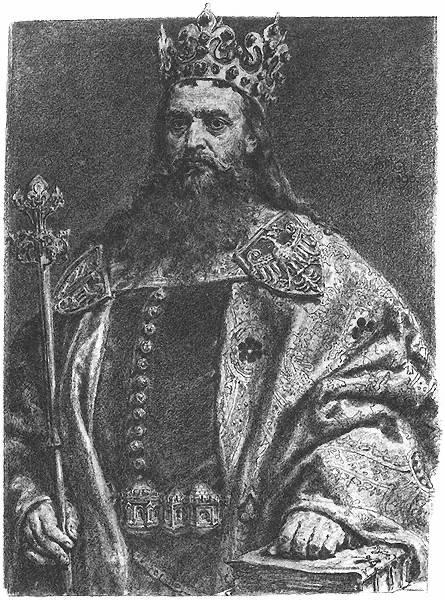 Król Polski Kazimierz III Wielki