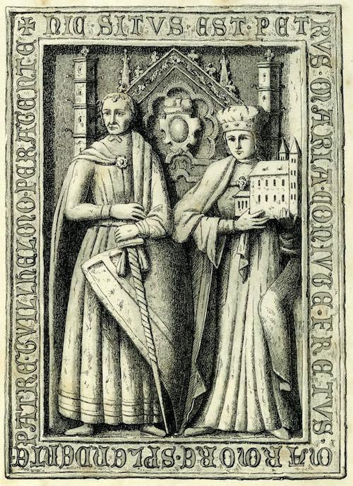 Najsłynniejszy śląski możnowładca Piotr Włost i jego żona Maria