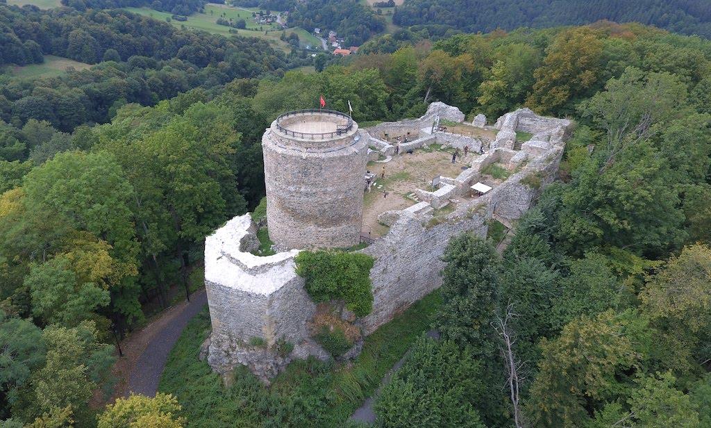 Ruiny zamku we Wleniu – Foto: Michał Jabłoński