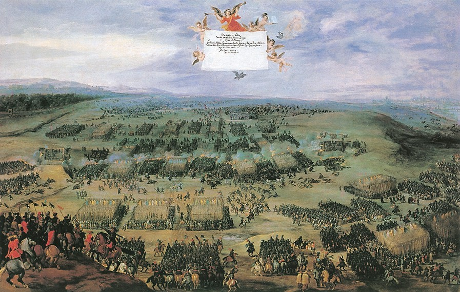 Bitwa na Białej Górze w 1620 roku – Autor: Peter Snayers
