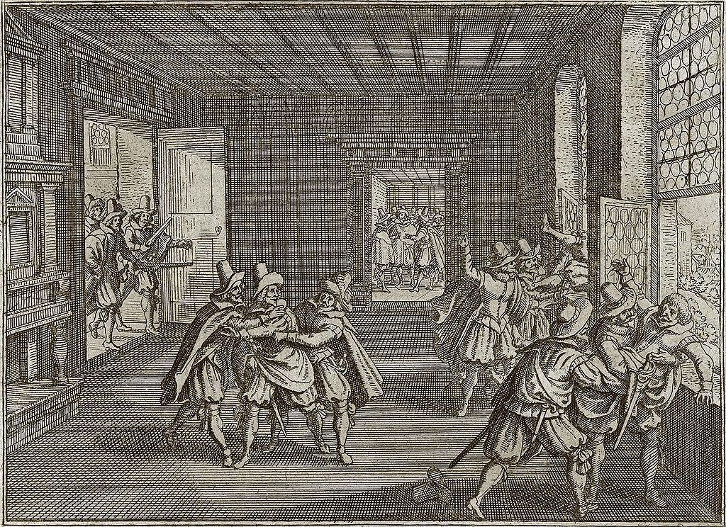 Druga defenestracja praska w 1618 roku