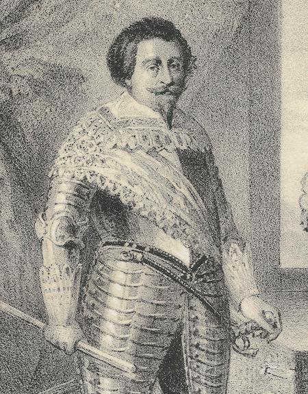 Śląski dowódca cesarskich wojsk Jan Ulryk von Schaffgotsch