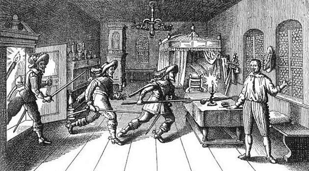 Zabójstwo Albrechta von Wallensteina