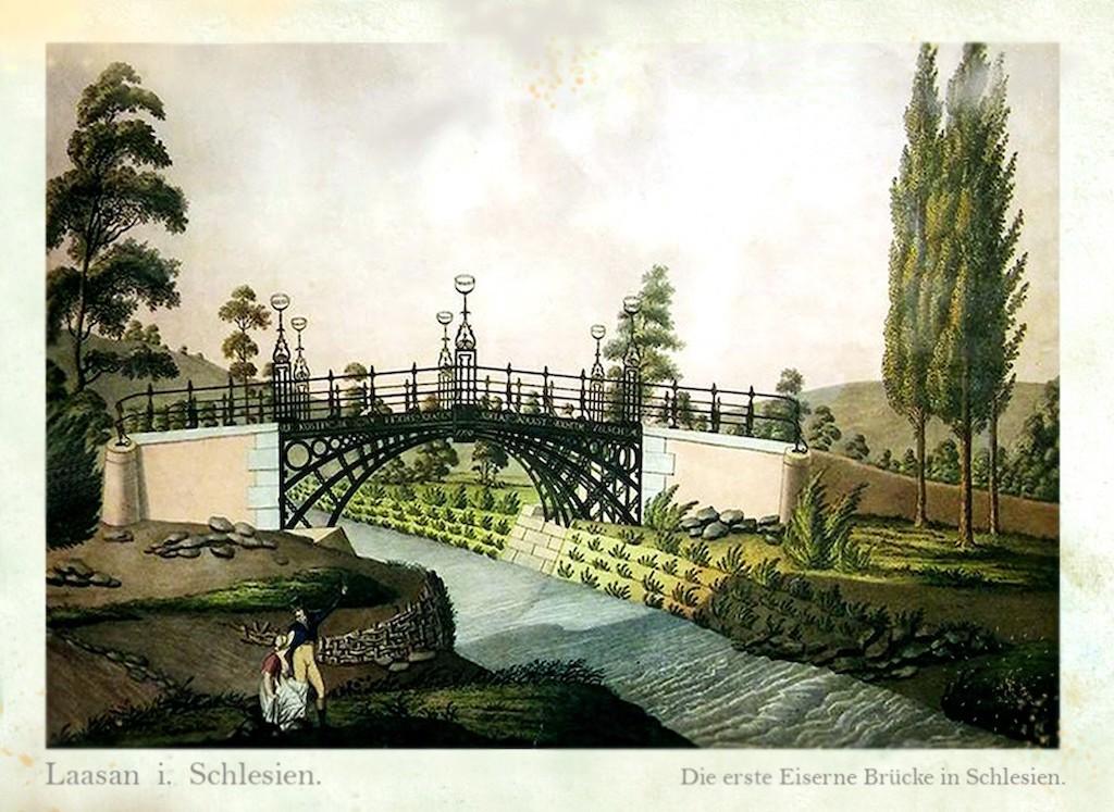 Most (nieistniejący) w Bażanach koło Żarowa – Źródło: polska-org.pl