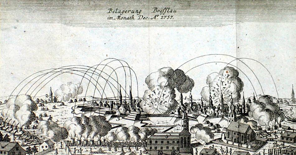 Oblężenie Wrocławia w grudniu 1757 roku – Źródło: polska-org.pl
