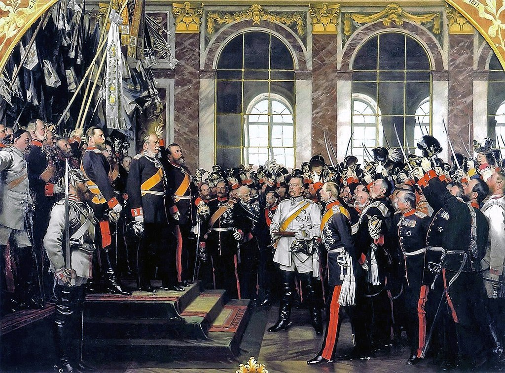 Proklamacja Cesarstwa Niemieckiego (II Rzeszy) w 1871 roku