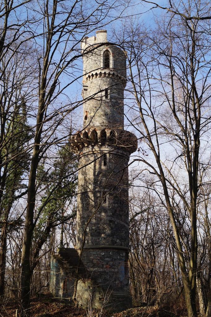 Wieża na Jańskiej Górze – Pierwsza w historii wieża Bismarcka