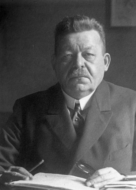 Prezydent Republiki Weimarskiej Friedrich Ebert – Źródło: Bundesarchiv