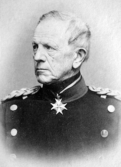 Feldmarszałek Helmuth von Moltke.