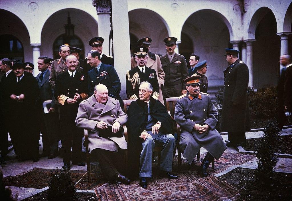 Konferencja w Jałcie – Źródło: The National Archives (UK)