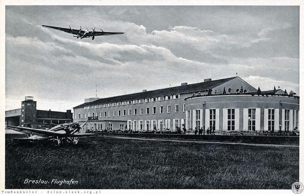 Port lotniczy Gądów Mały we Wrocławiu – Źródło: polska-org.pl
