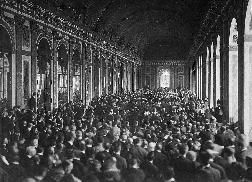 Podpisanie traktatu wersalskiego 28 czerwca 1919 roku