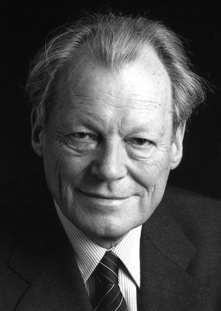 Kanclerz RFN Willy Brandt – Źródło: Bundesarchiv