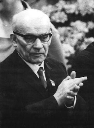 I sekretarz KC PZPR Władysław Gomułka