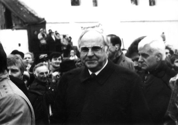 Kanclerz RFN Helmut Kohl w Krzyżowej