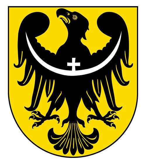 Stary herb województwa dolnośląskiego obowiązujący w latach 2000–2009