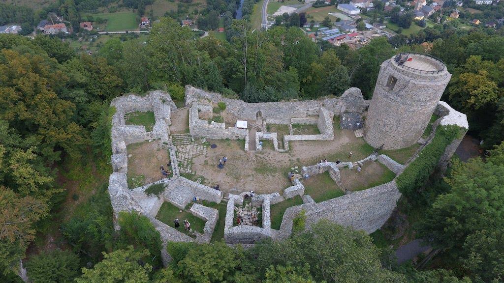 Zamek Wleń (Lenno) – Foto: Michał Jabłoński