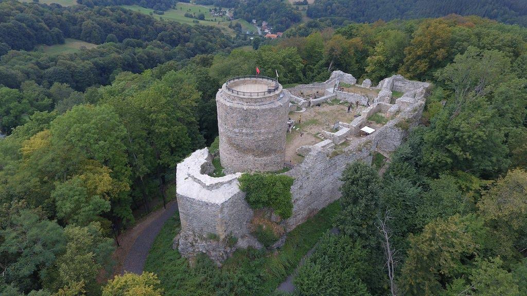 Zamek Wleń (Lenno) we Wleniu – Foto: Michał Jabłoński