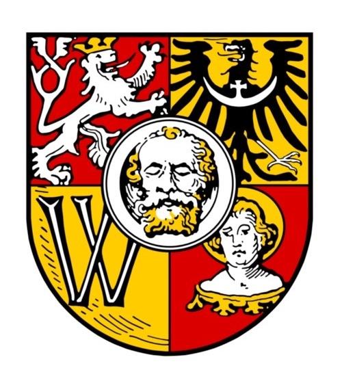 Herb Wrocławia ustanowiony w 1530 rok, w jednym z pól znajduje się herb Dolnego Śląska