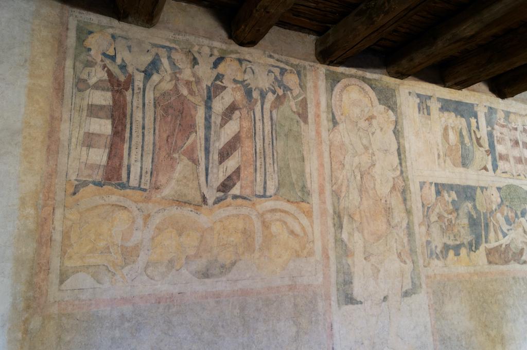 Malowidła powstały w latach 20. lub 30. XIV wieku