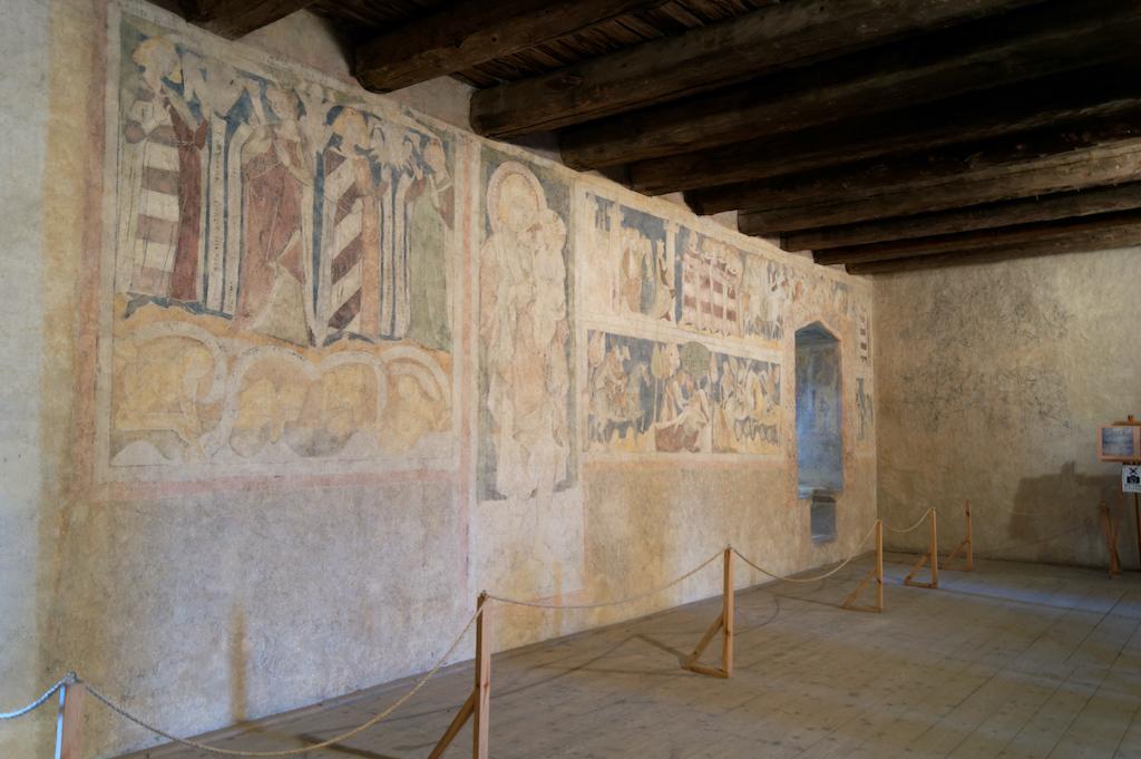 Malowidła ścienne w wieży książęcej w Siedlęcinie