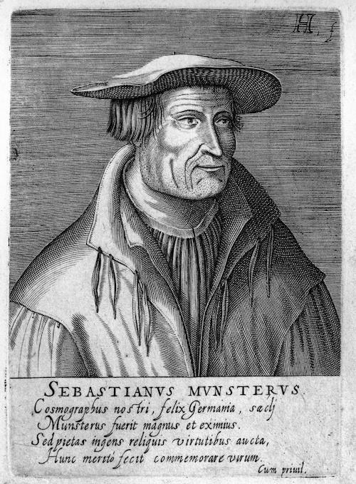 Sebastian Münster – Autor najstarszej mapy Śląska