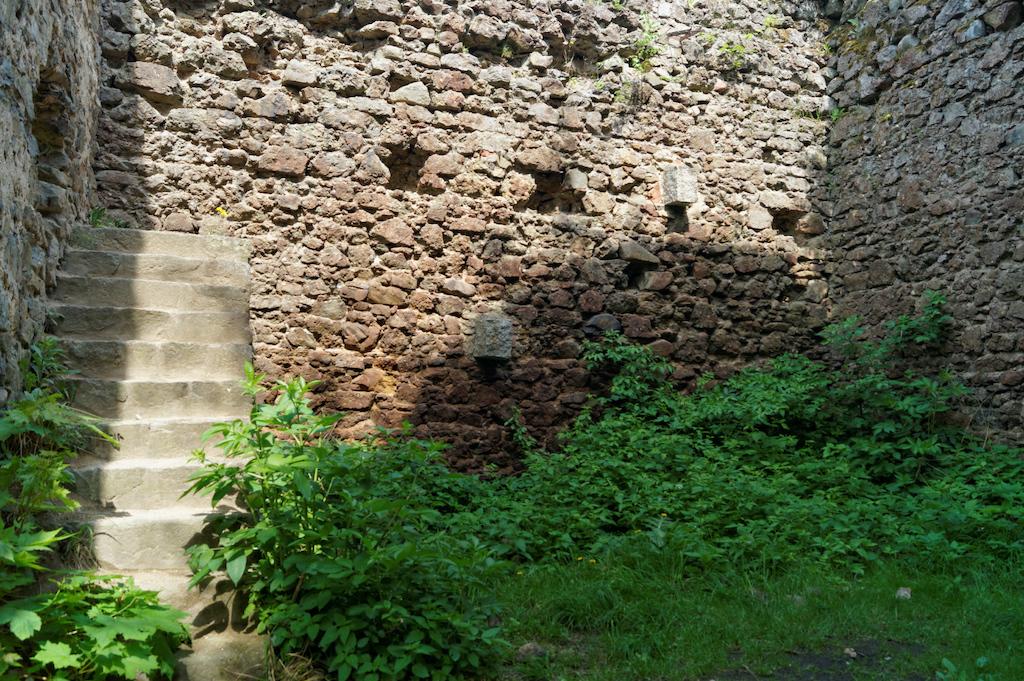 Pozostałości zabudowań zamku górnego