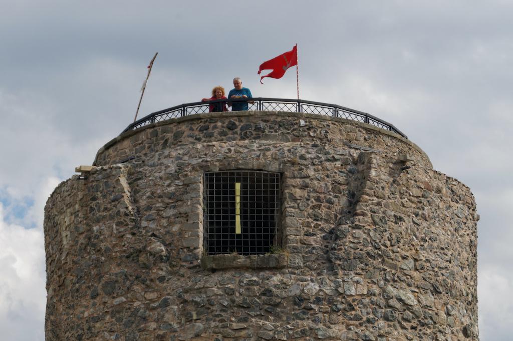 Wieża zamku we Wleniu