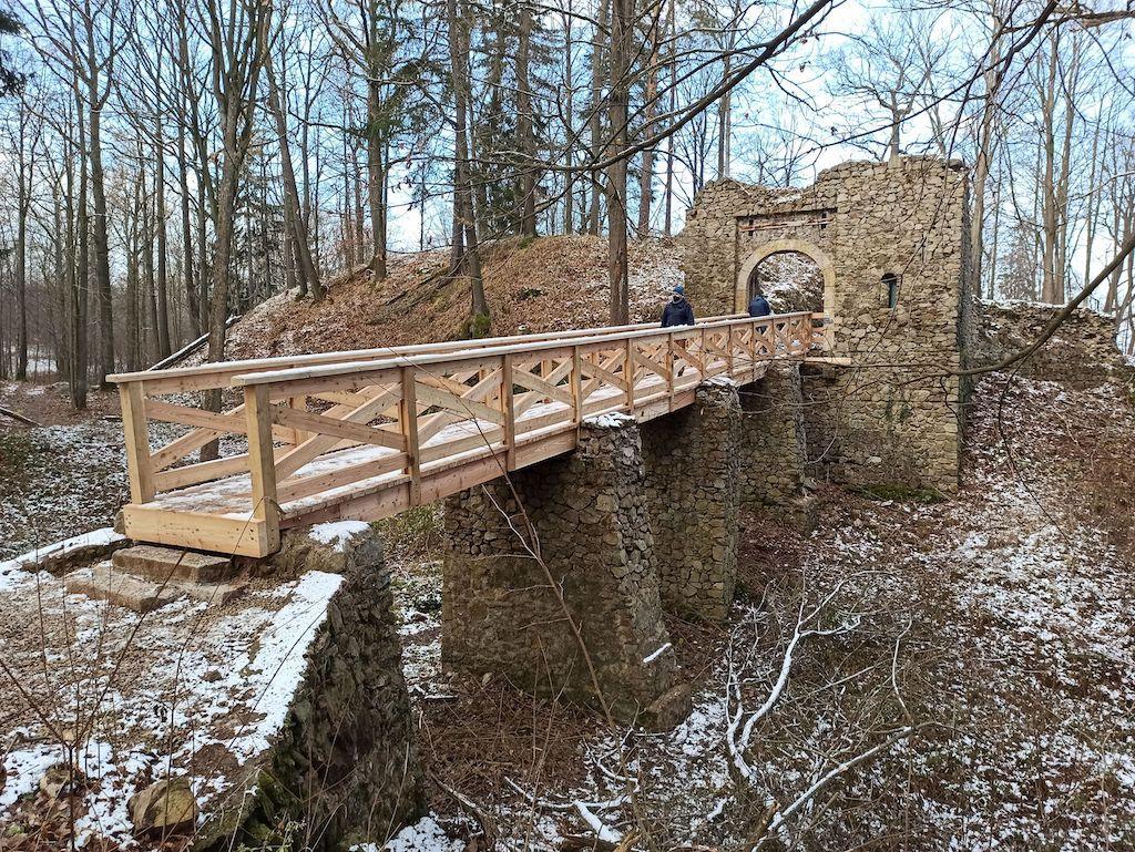 Odbudowany nowy most (oddany do użytku w grudniu 2020 roku) – Foto: Bartłomiej Paulus