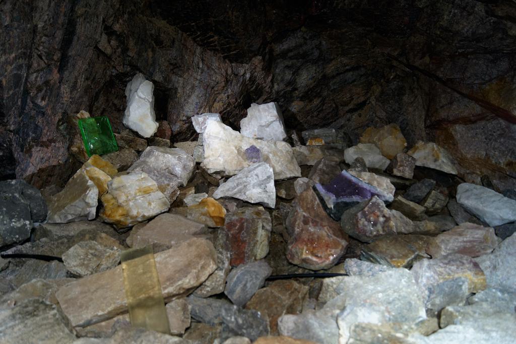 Ekspozycja minerałów