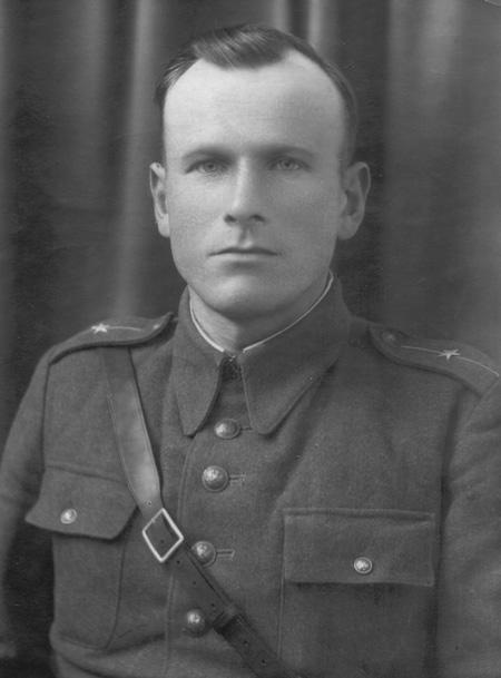 Kpt./mjr Stefan Ogonowski, naczelnik wydzielonej placówki UB w Kowarach w latach 1948–1955 – Źródło: IPN / R. Klementowski