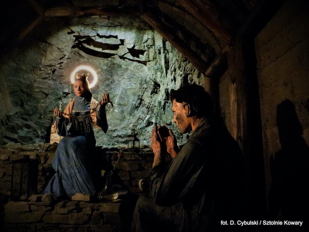 Figura św. Barbary, patronki górników – Foto: Dominik Cybulski
