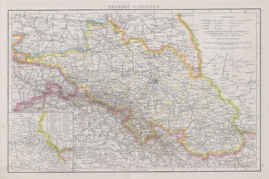 Prowincja śląska pod koniec XIX wieku