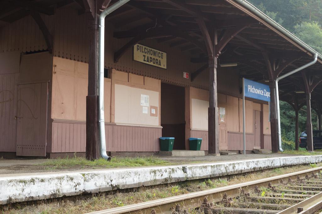 Przystanek kolejowy Pilchowice Zapora (nieczynny)