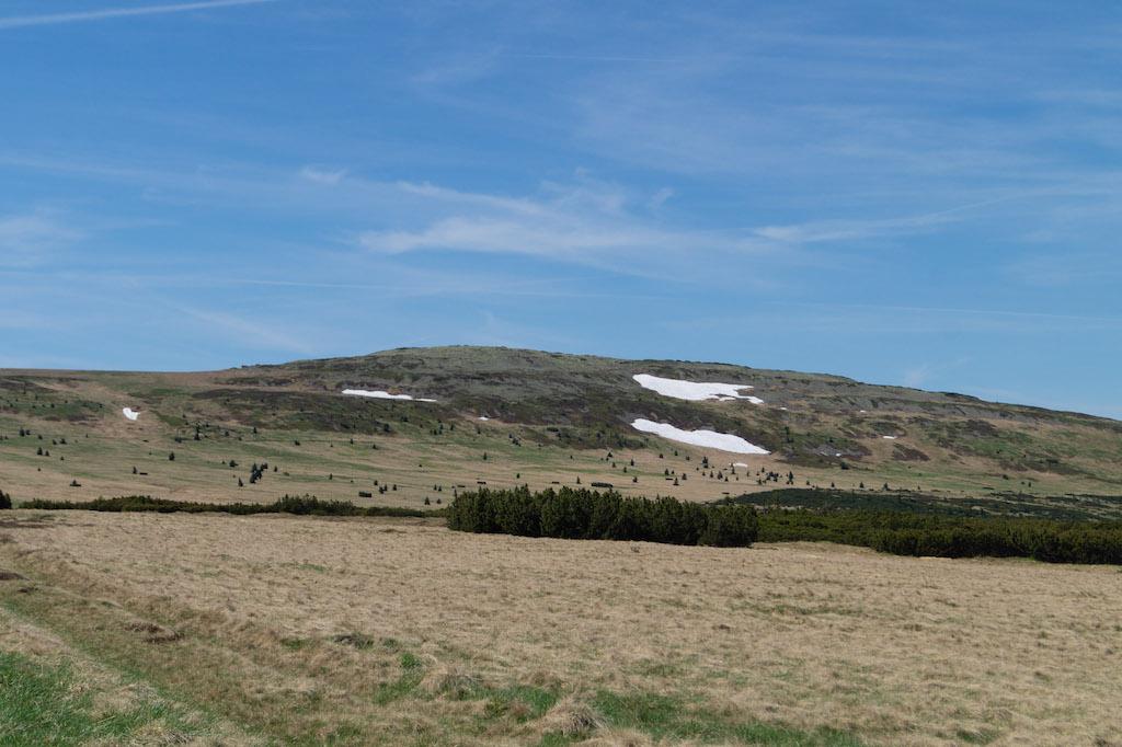 Luční hora 1555 m n.p.m. – Drugi pod względem wysokości szczyt w Karkonoszach