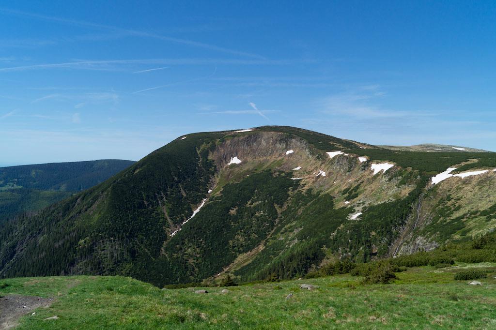 Studniční hora 1554 m n.p.m. – Trzeci pod względem wysokości szczyt w Karkonoszach