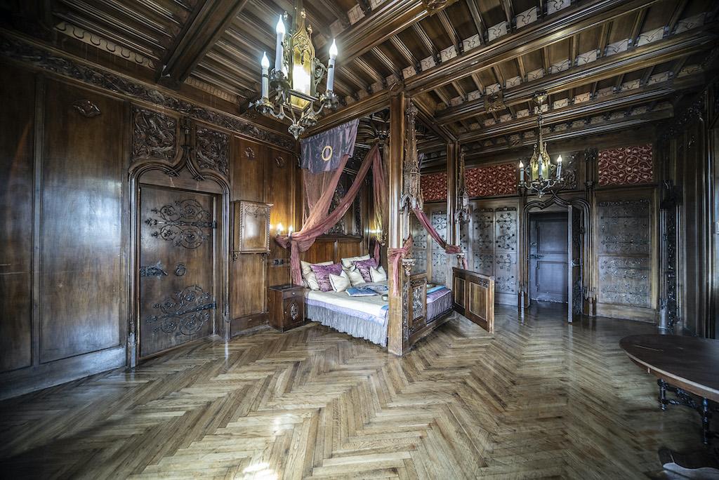 Sypialnia Ernesta Gütschowa – Foto: Adrian Sitko